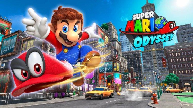 Super Mario Odyssey, igra mario