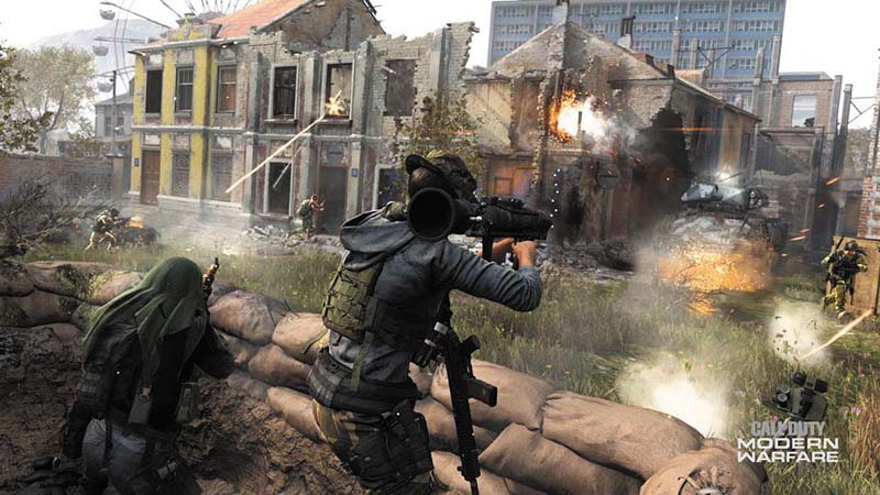 Call of Duty: Modern Warfare новое оружие 4 сезона