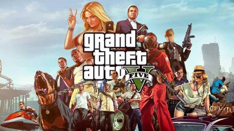 GTA 5 бесплатно в магазине Epic Games