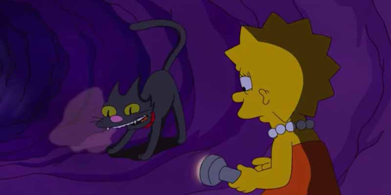 кошка Симпсонов