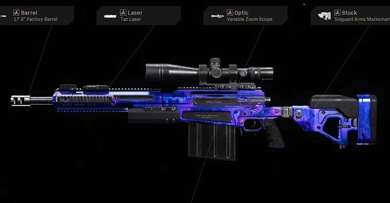 Как разблокировать Lonely Lagoon AX50 в Call of Duty: Warzone