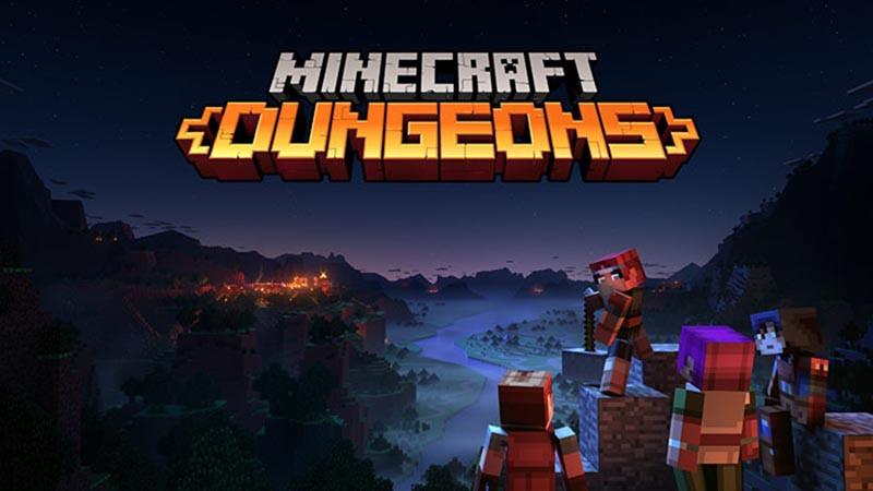 Minecraft Dungeons локальный мультиплеер