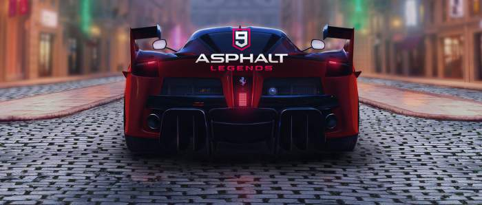 Aspalt 9: Legends на андроид