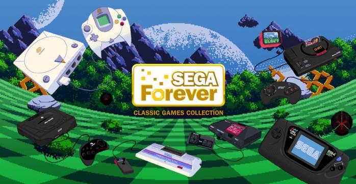 SEGA Forever games андроид