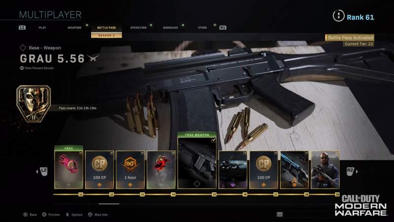 штурмовые винтовки warzone