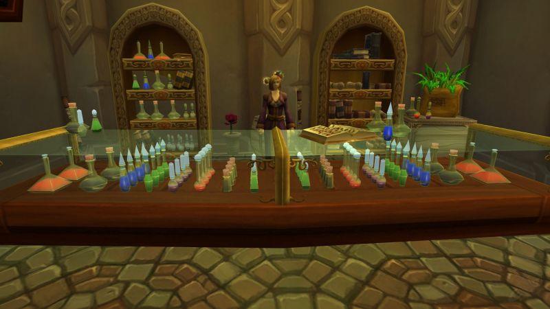 Прокачка алхимии в Shadowlands