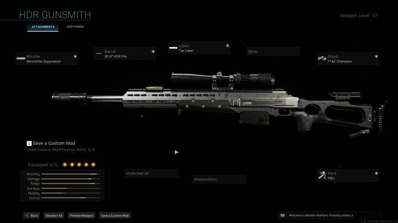 Лучшая сборка HDR в Warzone